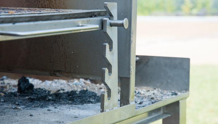 Lormet griglia acciaio (dettaglio)