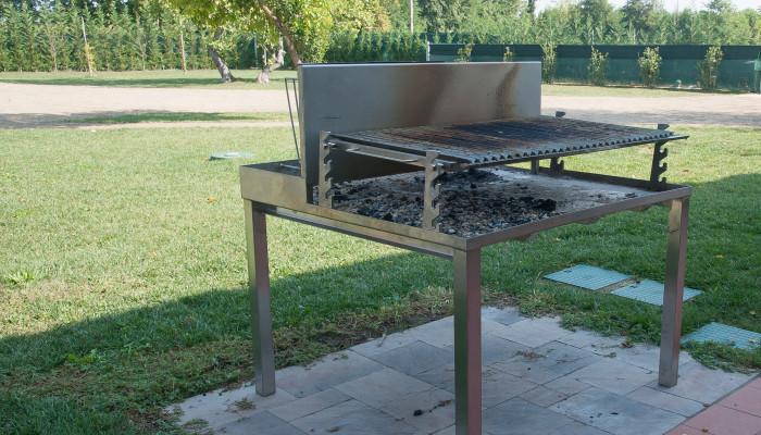 Lormet griglia acciaio aperta