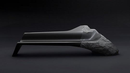 Onyx divano carbonio