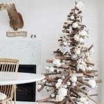 albero di natale legno