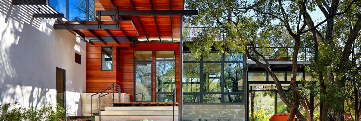 copertura casa e particolari ferro