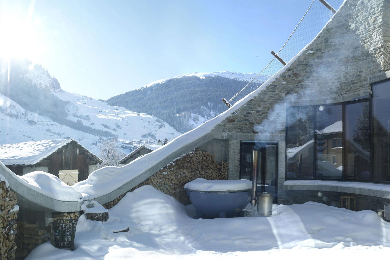 La villa nella montagna - Lormet Steel Design srlLormet Steel ...