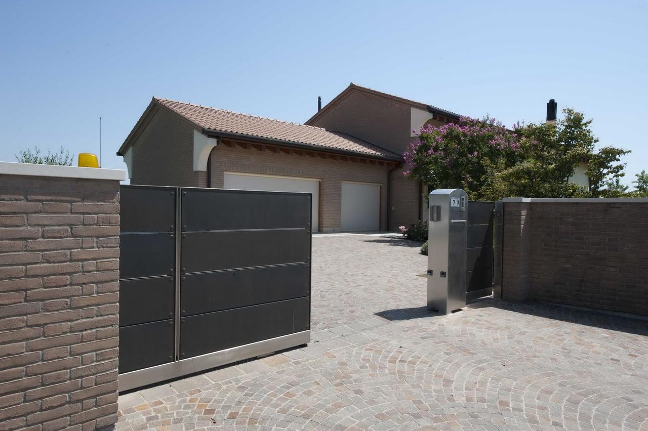 cancelli idee porta giardino ideale : La progettazione di cancelli scorrevoli ? per Lormet Steel Design il ...