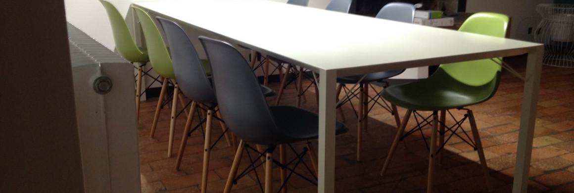 tavolo design alluminio