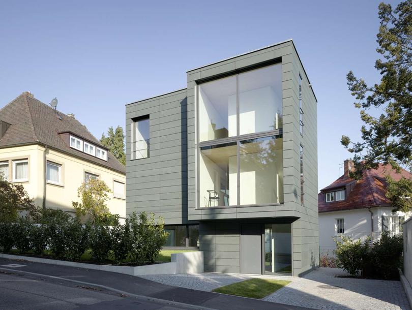 Casa in metallo e-arch.com